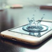 iPhone_Waterdrop